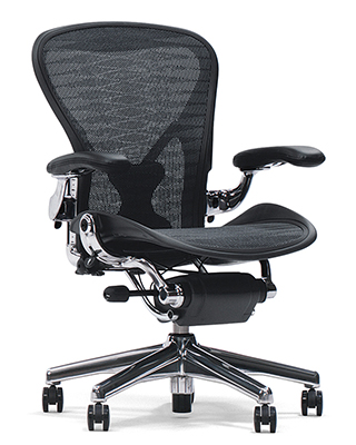 AERON CLASSIC WITH POLISHED BASED BY HM