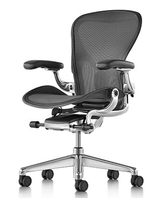 AERON REMASTERED WITH POLISHED BASE BY HM