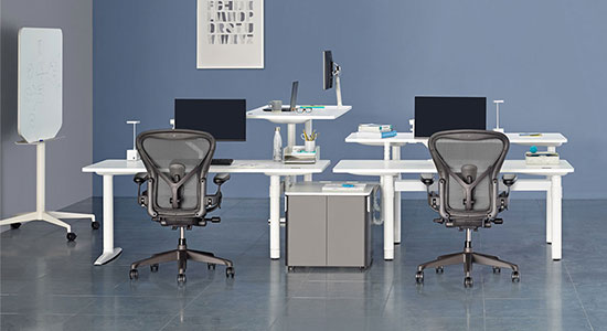 ATLAS OFFICE LANDSCAPE  BY HERMAN MILLER