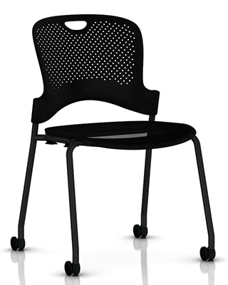 CAPER FLEXNET  STACKING CHAIR BY HM $346