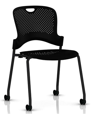 CAPER STACKING CHAIR BY HM $291