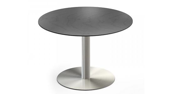 STAINLESS STEEL DISC BASE TABLE