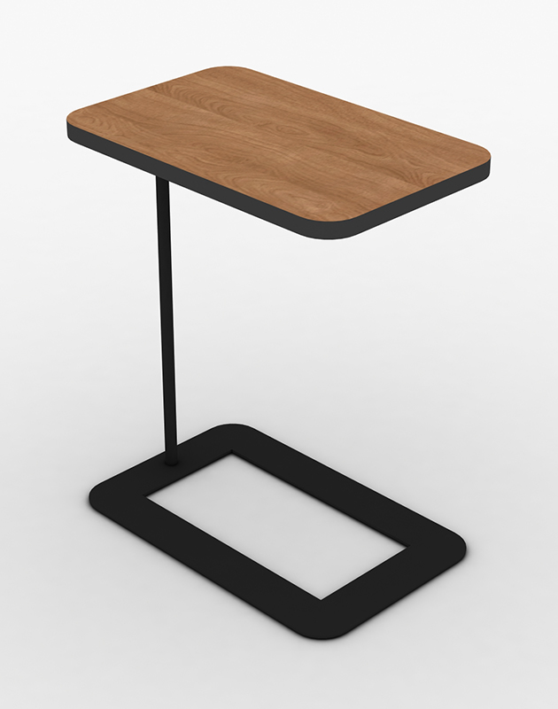 Classy Computer Tables To Go With Living Room Decor: HAPPY LARRY LAPTOP TABLE