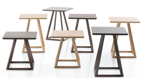 KITE OCCASIONAL TABLES BY FORNASARIG