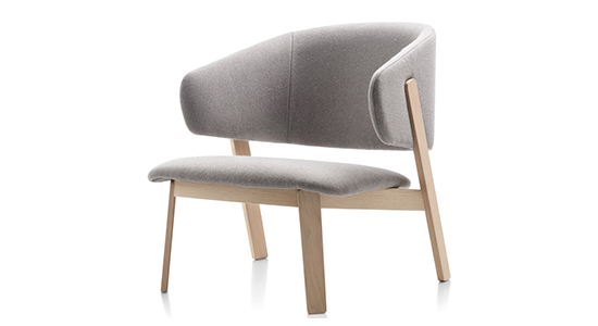 WOLFGANG LOW ARMCHAIR BY FORNASARIG