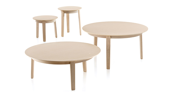 WOLFGANG OCCASIONAL TABLES BY FORNASARIG