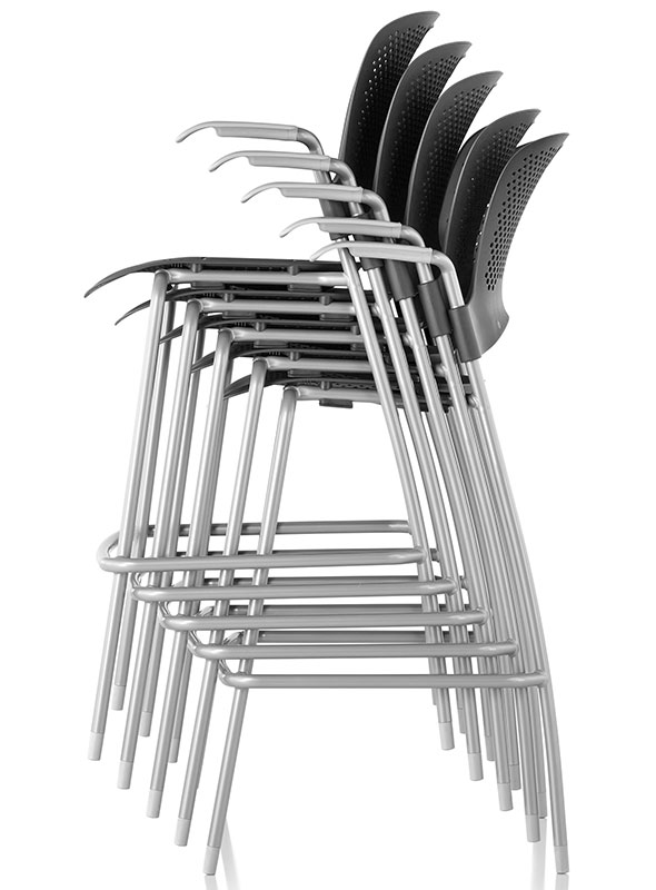 Caper Stacking Stool By Herman Miller