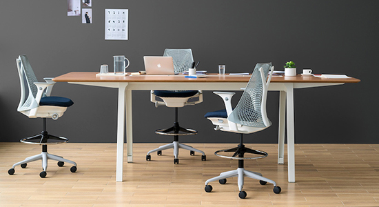 OPTIMIS HIGH TABLES BY HERMAN MILLER