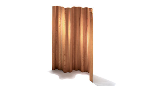 EAMES MOULDED PLYWOOD FOLDING SCREEN