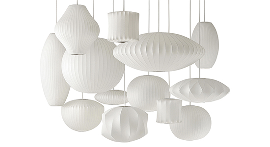 NELSON BUBBLE LAMPS  BY HERMAN MILLER