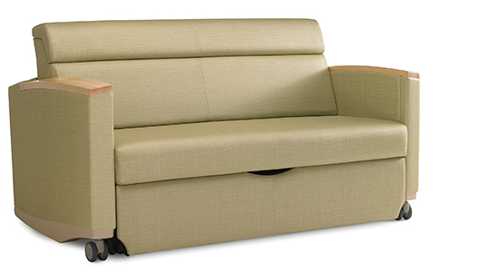 CONSOUL SETTEE BY HERMAN MILLER