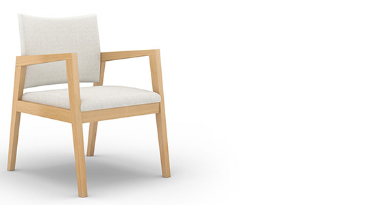 REIN PLUS GUEST CHAIR BY CAROLINA